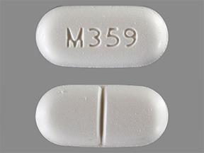 Hydrocodone 7.5/650mg