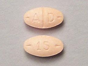 Adderall 15 mg
