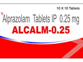 Alprazolam 0.25mg