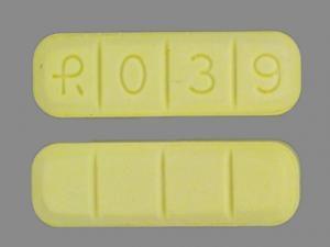 yellow xanax bar