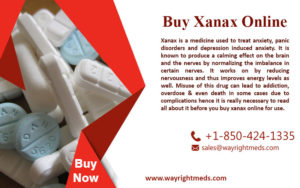 You Can Buy Xanax Online Without Prescription at wayrightmeds.com